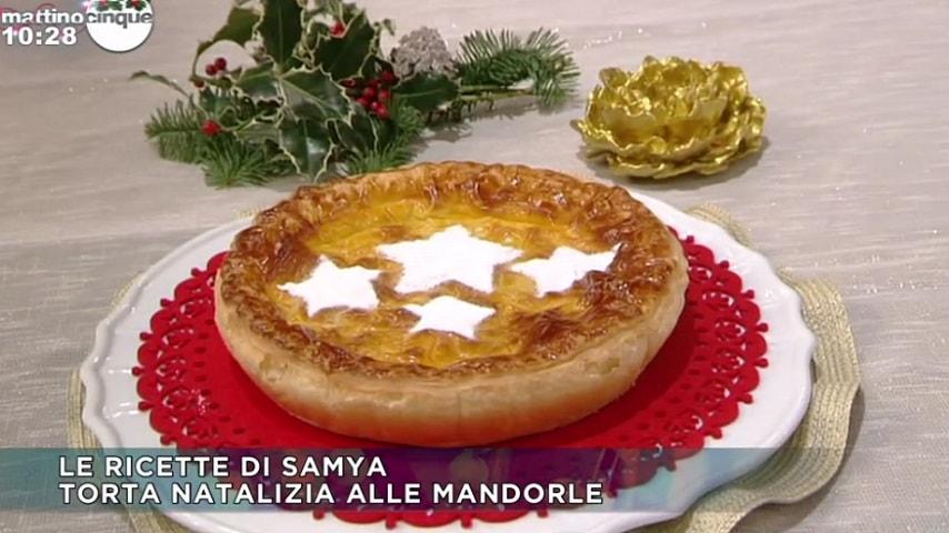 Mattino Cinque Torta Natalizia Alle Mandorle Di Samya Lanostratv