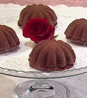 foto fiori di cioccolato