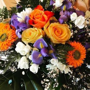 foto Caterina Balivo fiori