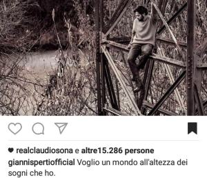 foto Gianni Sperti post