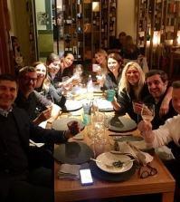 Foto Mara Venier insieme ad altri conduttori Rai