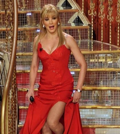 foto Milly Carlucci scale