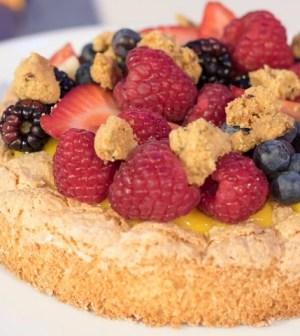 foto torta cocco di nonna
