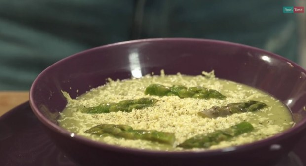 foto vellutata asparagi