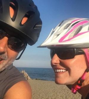 Foto Antonella Clerici e Vittorio