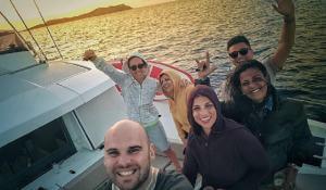 Foto Emma Marrone con gli amici