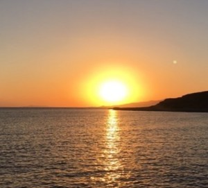 foto Federica Panicucci tramonto