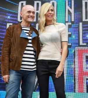 foto Grande Fratello Vip Ilary Blasi e Alfonso Signorini