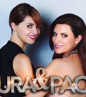 foto laura pausini Paola cortellesi Rai 1 Laura e Paola