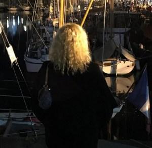 foto Antonella Clerici in Francia