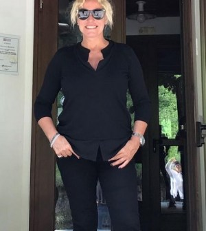 foto Antonella Clerici in vacanza