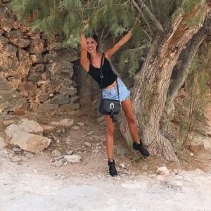 foto Belen Rodriguez in Grecia