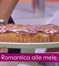 foto torta romantica alle mele