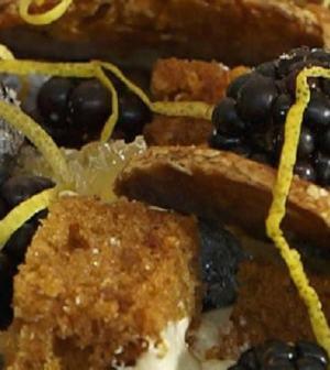 Foto torta speziata Bake off Italia