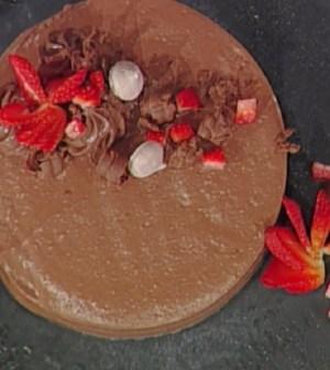 Foto meringata al cioccolato La prova del cuoco