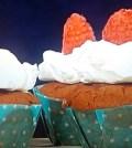 Foto red velvet cupcake Domenica In