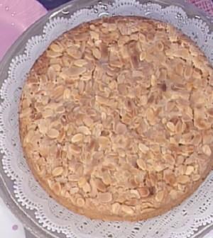 Foto torta di mandorle La prova del cuoco