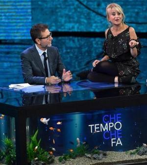 Foto Fabio fazio Luciana Littizzetto Che Tempo che Fa