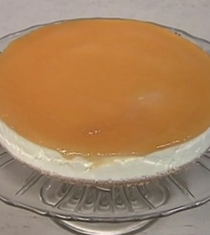 foto cheesecake all'arancia