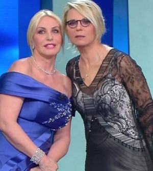 Foto Maria De Filippi Antonella Clerici Sanremo 2019