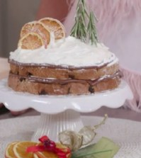 Foto torta di panettone Le ricette di Natale