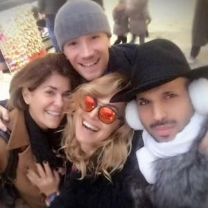 foto Barbara d'Urso con gli amici