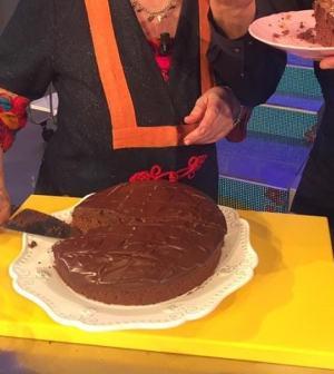 foto torta al cioccolato di Dadelain