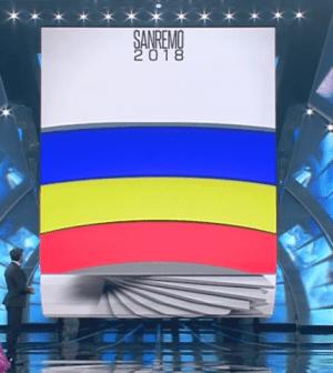 Foto grafica classifica quarta serata Sanremo 2018