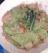 Foto testaroli al pesto La prova del cuoco