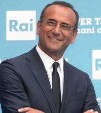 Foto Carlo Conti Ieri e Oggi