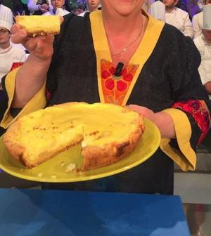 foto torta formaggio e pere