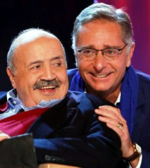 foto bonolis maurizio costanzo l'intervista