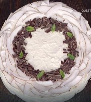 foto torta al cocco senza cottura