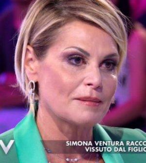 foto Simona ventura Niccolò bettarini verissimo