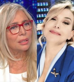 foto barbara d'urso Mara venier domenica in domenica live