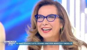 Cesara Buonamici in lacrime a Domenica Live per Lamberto Spo