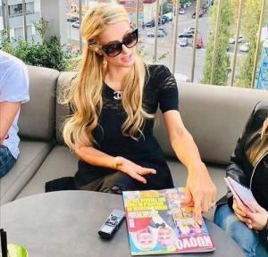 Gemma Galgani stupita dal gesto di Paris Hilton prima di Dom