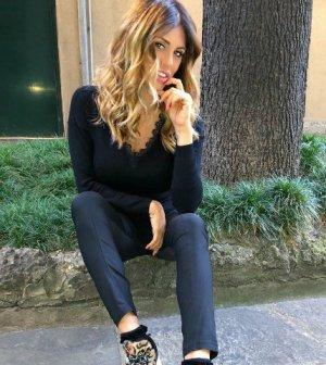 foto paola caruso incinta Francesco Caserta Elena morali