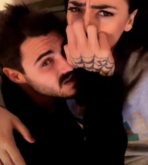foto Giulia Salemi e Francesco Monte