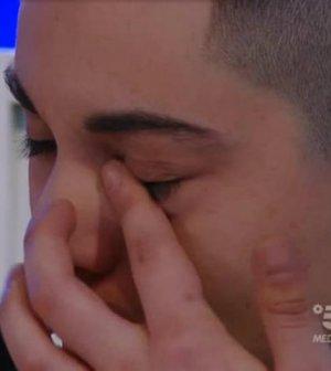 foto Giordana Angi piange amici 18