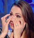 foto Anna Tatangelo in lacrime domenica in
