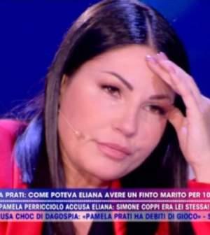 foto eliana michelazzo piange 2