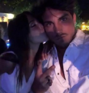 foto Daniele Dal Moro Martina Nasoni bacio