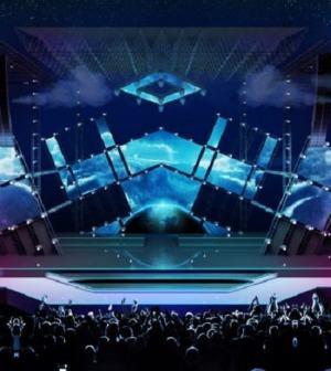 foto palco Ballata per Genova