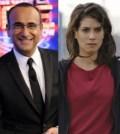 Foto Ascolti Carlo Conti e Giulia Michelini