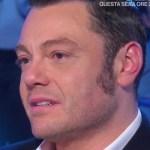 """Domenica In, Tiziano Ferro in lacrime: """"Mara, tu mi vuoi morto!"""""""