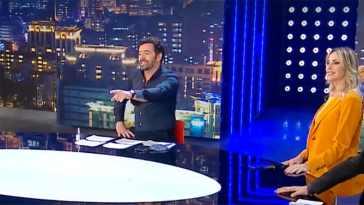 """Stefania Orlando imbarazza Alberto Matano: """"Sei stato straordinario"""""""