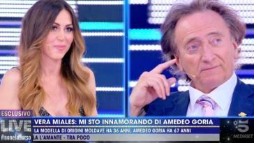 """Amedeo Goria e Vera Miales innamorati? """"Dicono sia una montatura"""" svela Dandolo"""