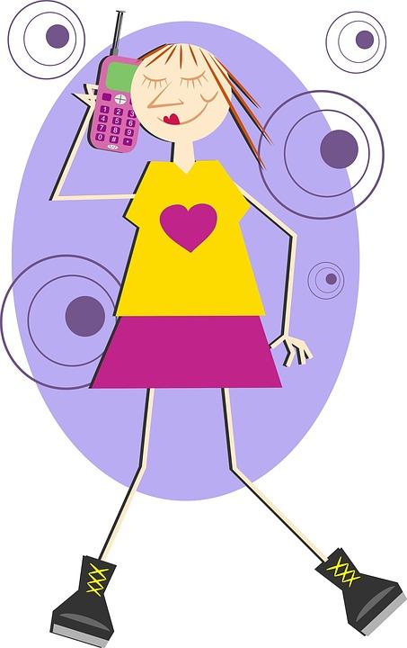 www.pixabay.com child phone 3