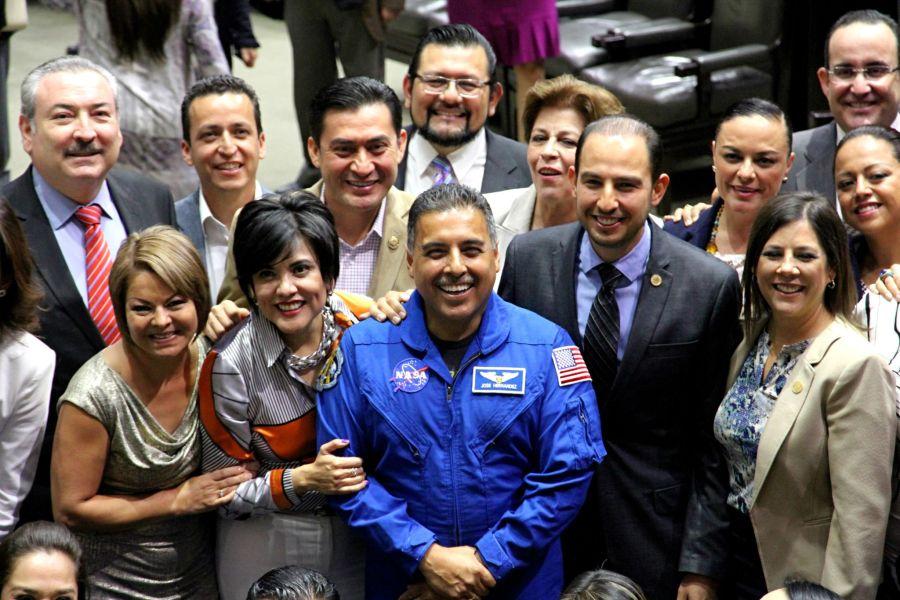 Astronauta Jose Hernandez Moreno